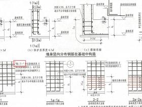 剪力墙纵筋在基础内如何锚固?