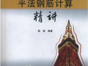 G101平法钢筋计算精讲(彭波著高清版)