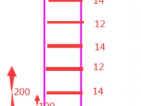 广联达暗柱、柱的箍筋、拉筋隔一布一如怎么布置?如C12/C14@100这种