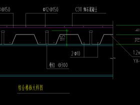 压型钢板表示方法