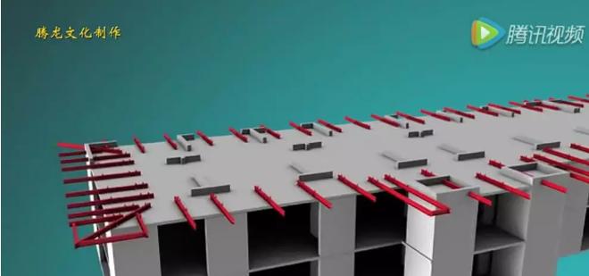 外墙承插型盘扣式悬挑脚手架,施工工艺视频动画!