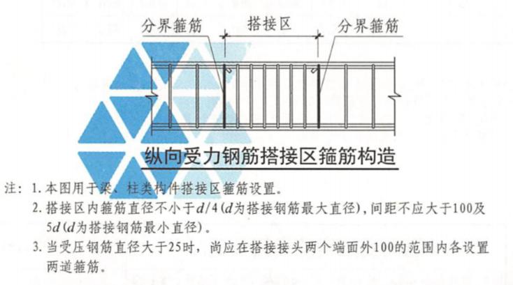 暗柱连接区段范围内,箍筋是否加密?