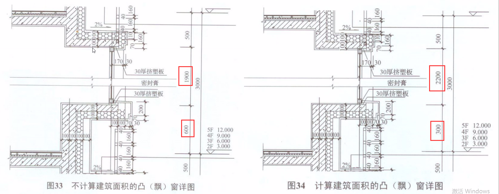 飘窗部位究竟应如何判断建筑面积?