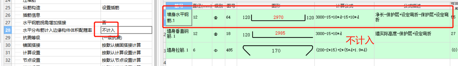 水平分布筋计入边缘构件体积配箍率是什么意思?